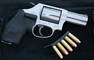 "The S&W 637 with the 2.5"" barrel."