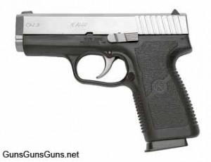 Handgun review photo: Left-side thumbnail of Kahr Arms CW9.