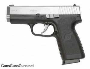 Handgun review photo: Left-side thumbnail of Kahr Arms CW9.