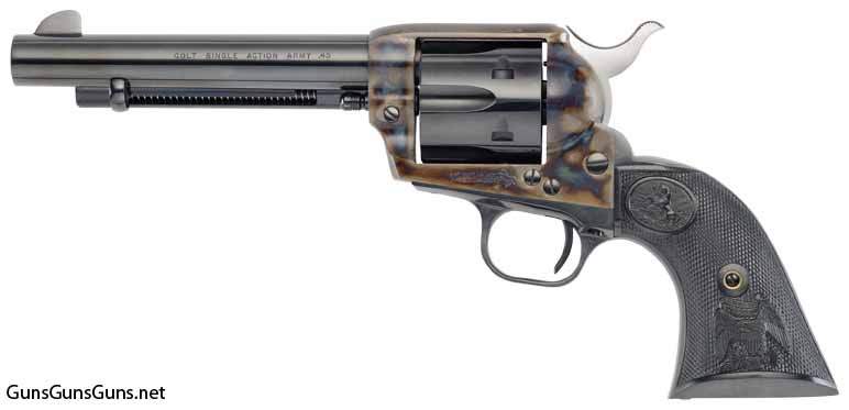 Colt SAA 7point5 inch left side photo