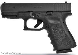 Glock 38 Gen3 left side photo