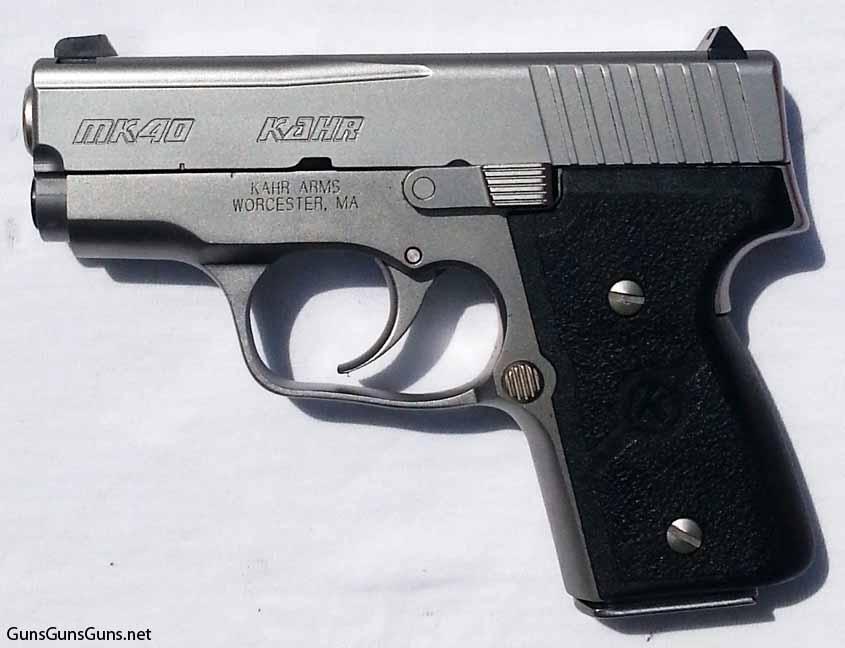 Kahr Arms MK40 left side photo