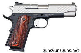 Smith-Wesson-1911-Compact-ES right side photo