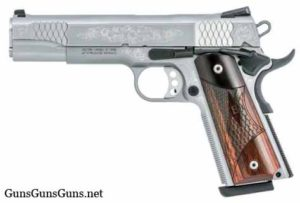 smith-wesson-sw1911-engraved-left-side photo