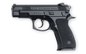 The CZ 75 D PCR Compact from the left.