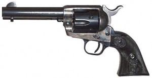 Colt Single Action Army blued left side photo
