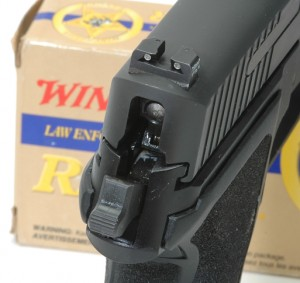 SIG Sauer P229 E2 rear sight photo