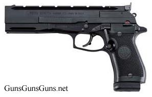 Beretta 87 Target left side