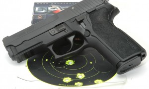 SIG Sauer P229 target results photo