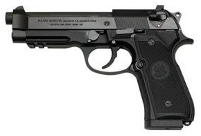 Beretta 92A1 left side photo
