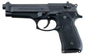 Beretta 92FS black left side photo