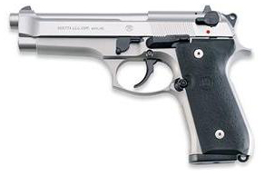 Beretta 92FS Inox left side photo