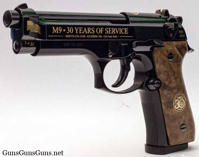 Beretta M9 Exclusive left side photo