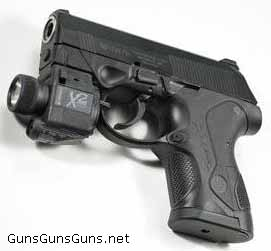 Beretta px4-storm-with-laser-sight