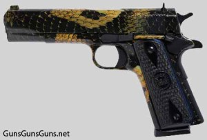 The 1911A1 with the Boa finish.