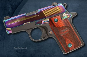 P238 rainbow titanium finish photo