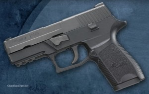 SIG Sauer P250 compact left side photo