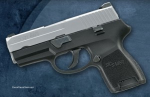 SIG P250 subcompact left side photo