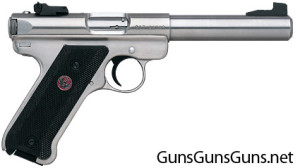 The stainless Mark III Target.
