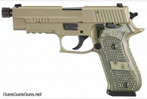 The P220 Scorpion TB.