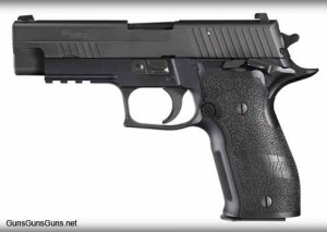The P226 Elite SAO model.