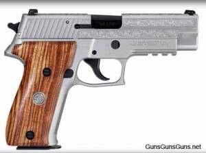 The P226 Engraved Stainless.