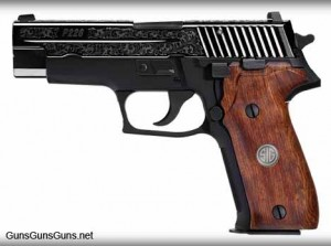 The P226 Engraved.