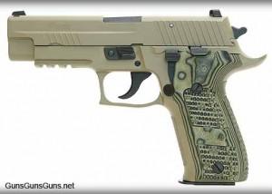 The P226 Scorpion.