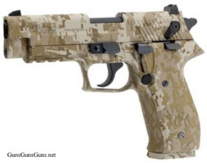 The desert digital camo model.