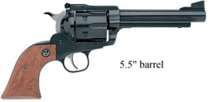 Ruger New Model Super Blackhawk 5inch black right side photo