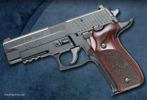 The P226 Elite from the left.