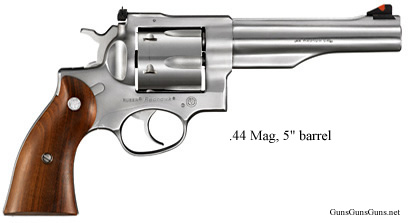 Ruger Redhawk 5inch right side photo