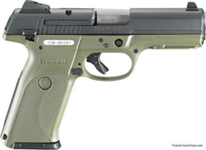Ruger SR9 OD green photo