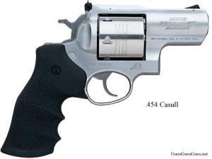 The Super Redhawk Alaskan chambered in .454 Casull.