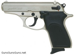 Bersa Thunder 380 stainless left side photo
