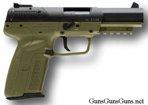 FNH Five-seveN green