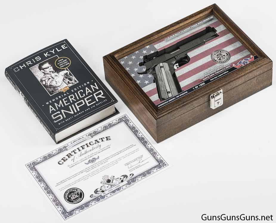 Springfield Armory Chris Kyle TRP Operator package photo