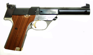 Supermatic Trophy 22LR Right Side -  Model