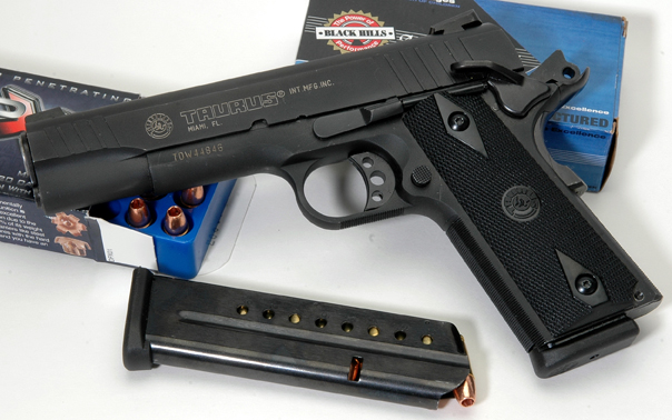 Handgun Review: the Taurus 1911 | GunGunsGuns net
