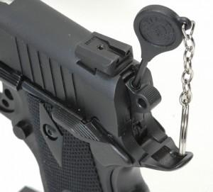 Taurus 1911 gun lock and key photo