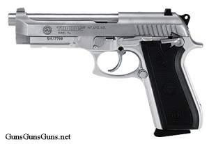 Taurus 100 stainless left side photo