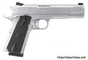 Taurus 1911 stainless right side photo