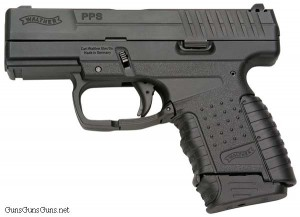 Walther PPS left side photo.