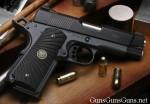 Handgun review photo: the Wilson Combat Bill Wilson Carry pistol, right side.