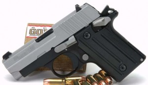 SIG Sauer P238 left side photo
