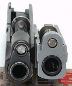 SIG P238 Colt Pocketlite muzzle comparison