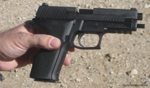 SIG P226 author's right side photo