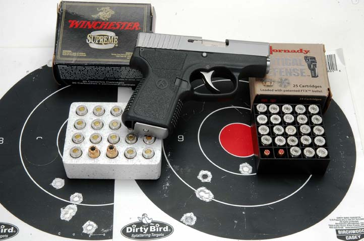 Kahr Arms P380 target results photo