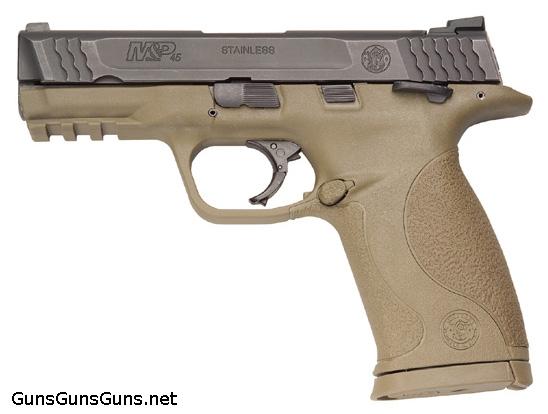 Smith-Wesson-MP45-Mid-Size-dark-earth photo