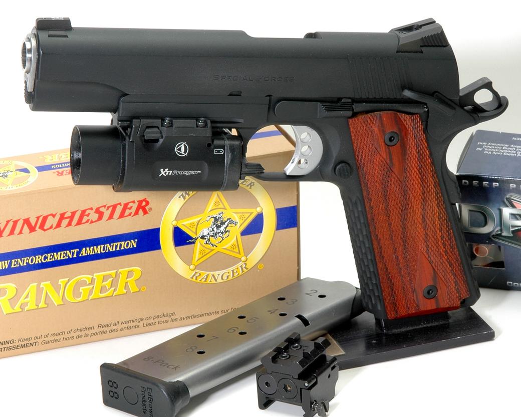 Handgun Review Ed Brown Special Forces Gungunsgunsnet